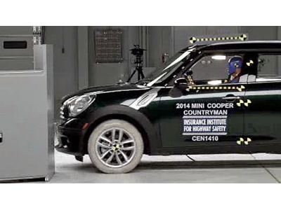 Mini Cooper Crash Test