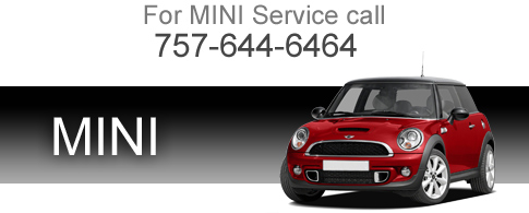 For MINI Service Call 757-466-1269