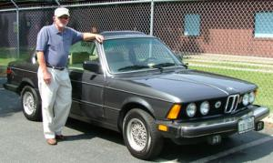 Tommy Richardson and his 1983 BMW 320i